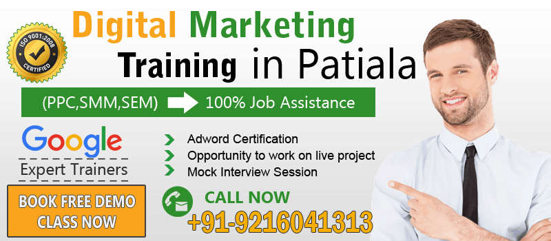 Digital Marketing Course in Patiala