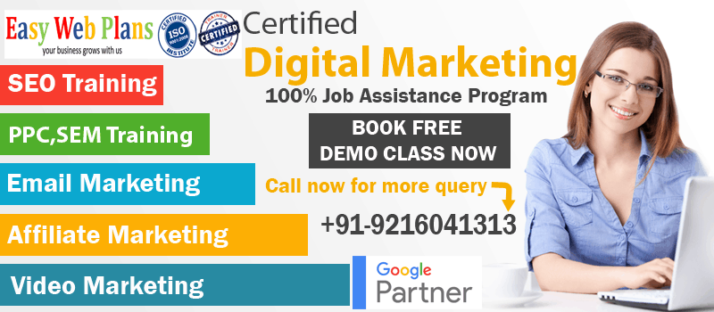 BEST DIGITAL MARKETING TRAINING INSTITUTE IN PUNJAB