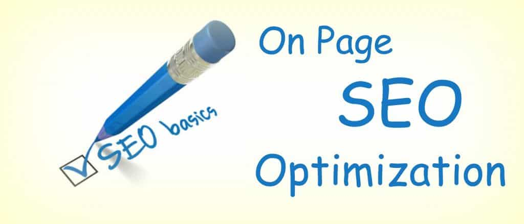 SEO Company on page