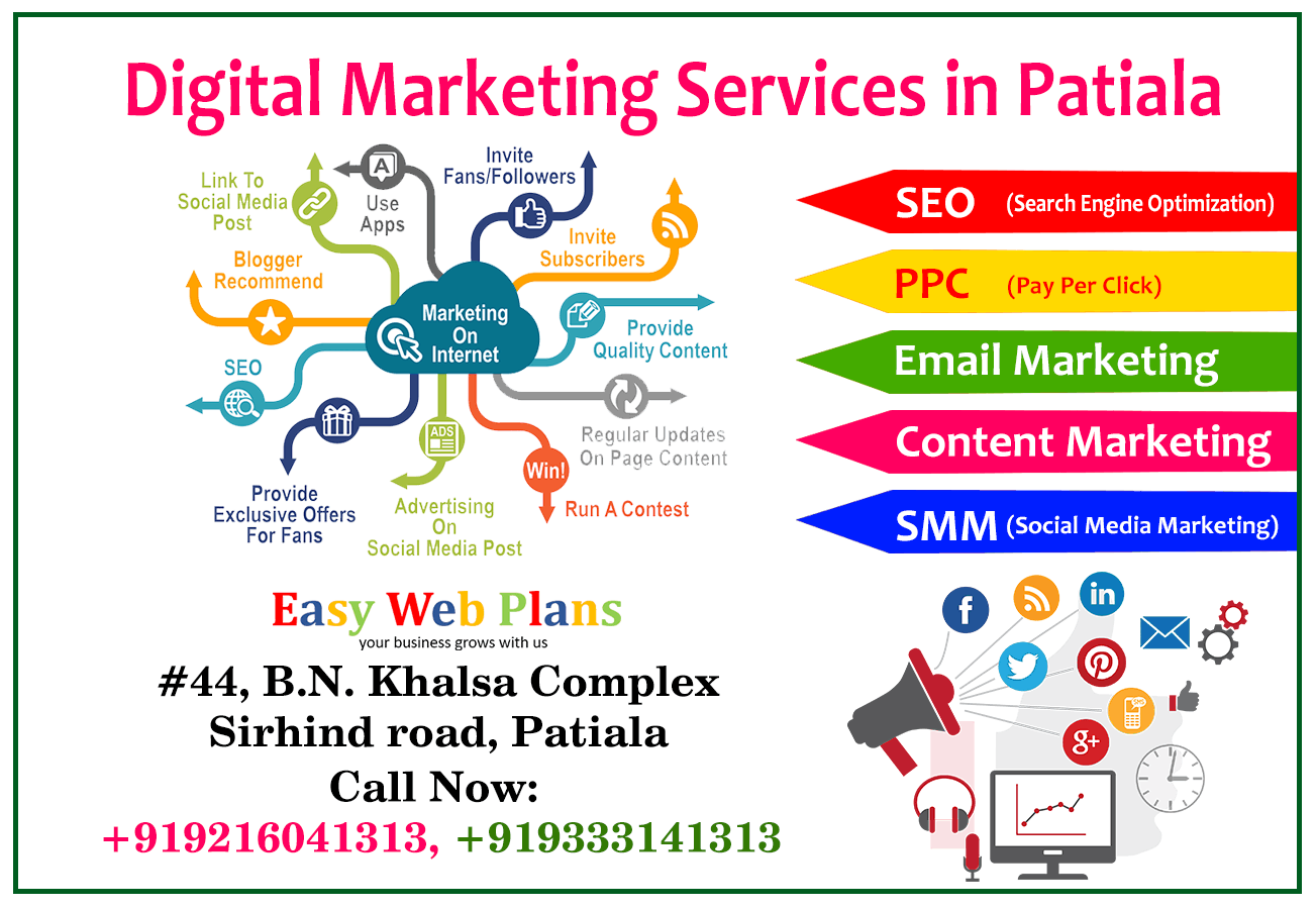 Digital marketing service in Patiala