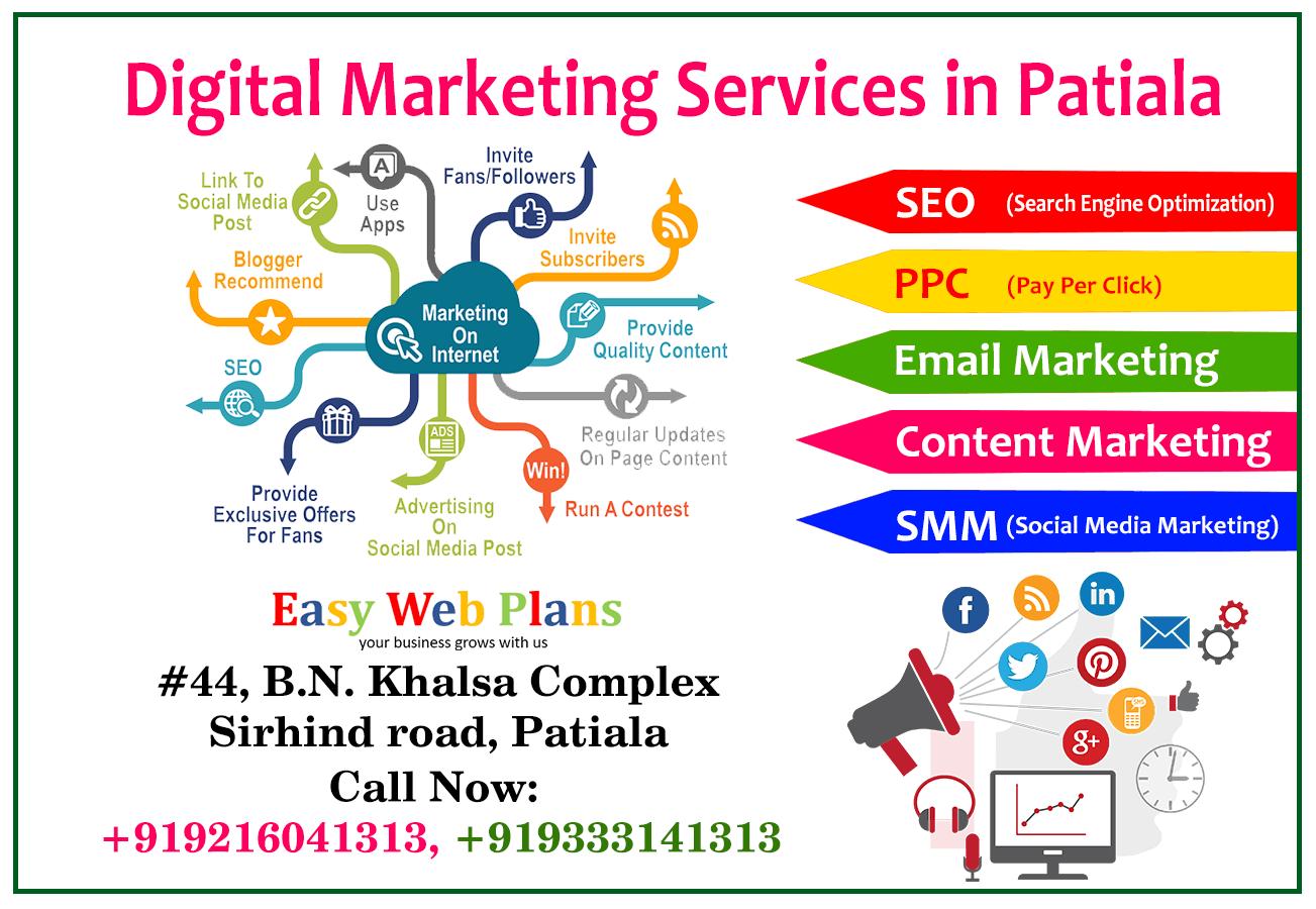 Best Digital Marketing Services in Patiala | Easy Web ...