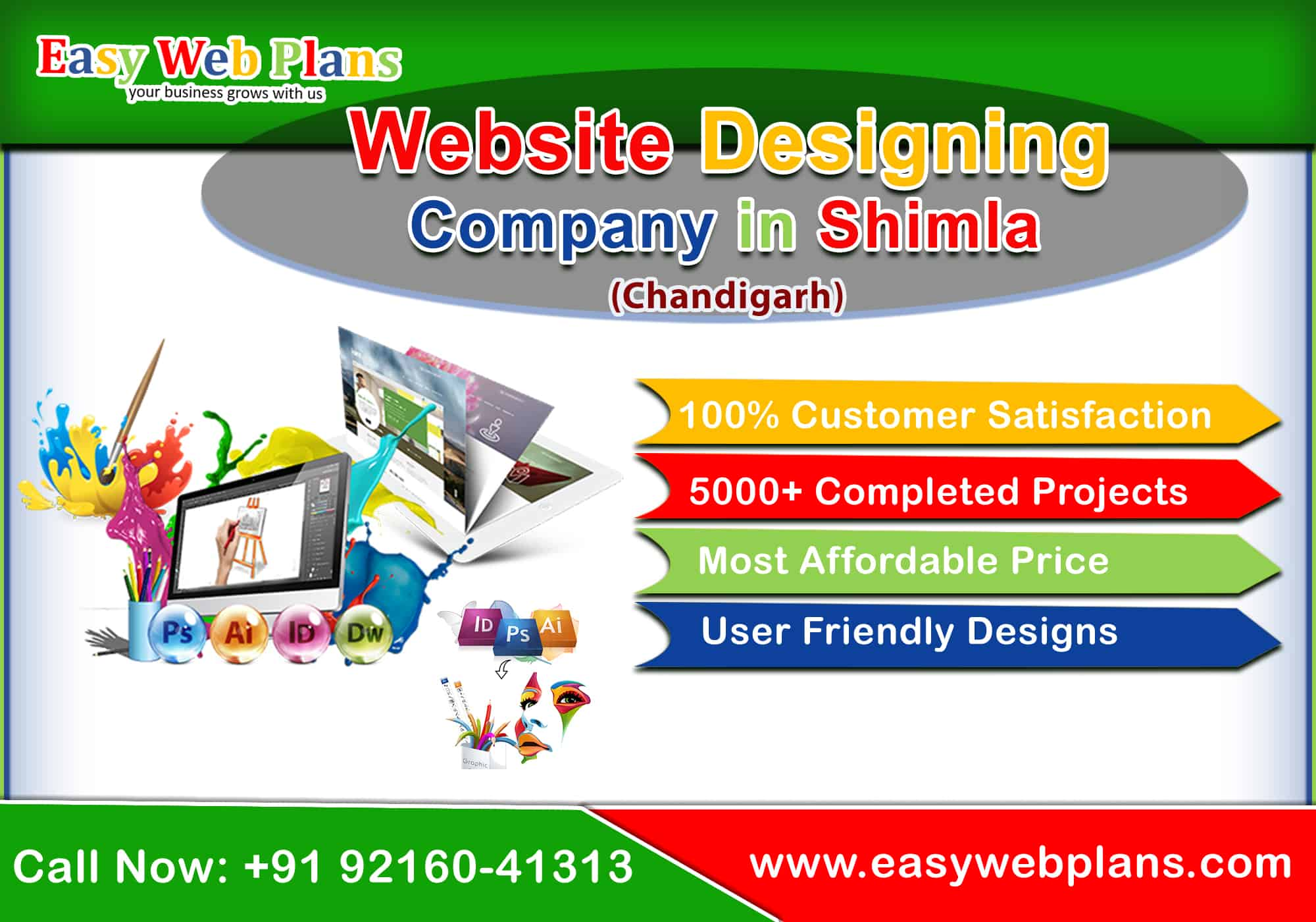 Website Designing Company in Shimla