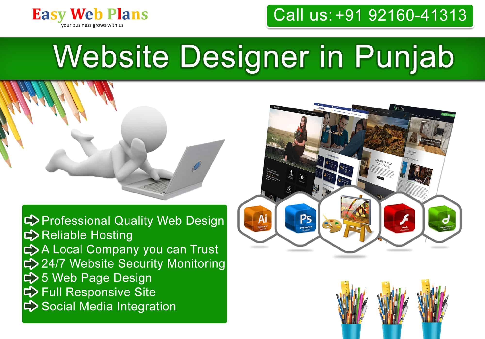 Website Designer in Punjab