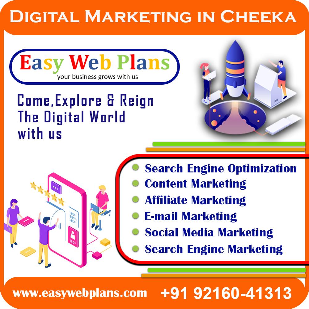 Digital Marketing Company in Cheeka