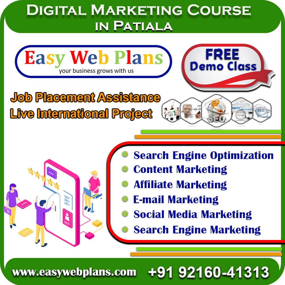 Advance Digital Marketing Course in Patiala