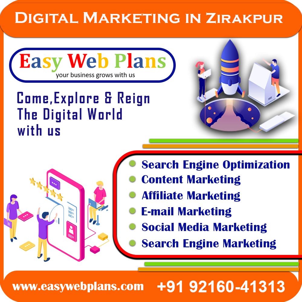 Digital Marketing Company in Zirakpur