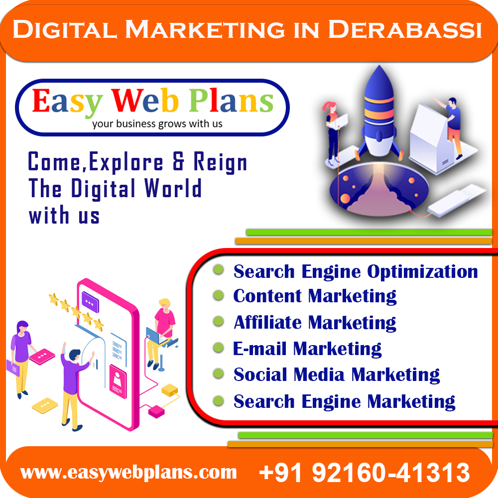 Digital Marketing Company in Derabassi