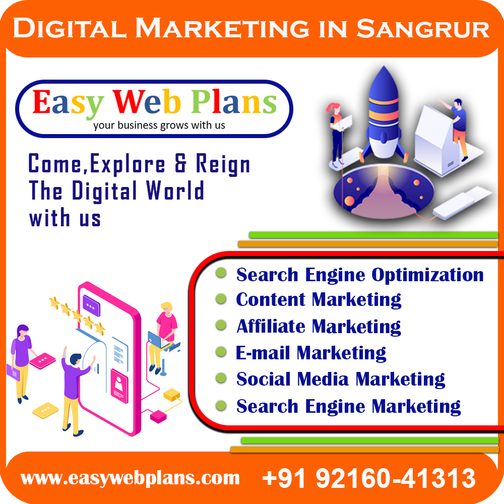 Digital Marketing Company in Sangrur