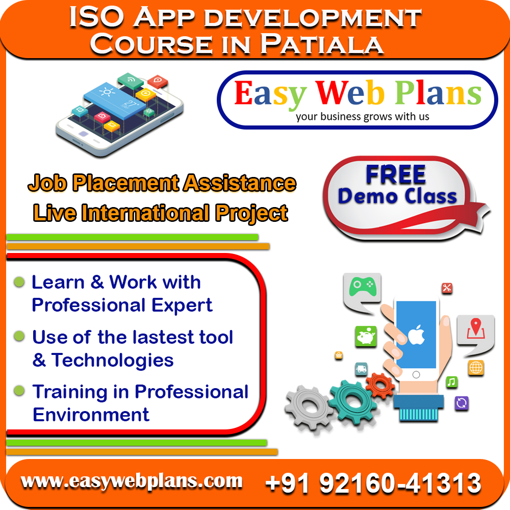 IOS App Development Course in Patiala