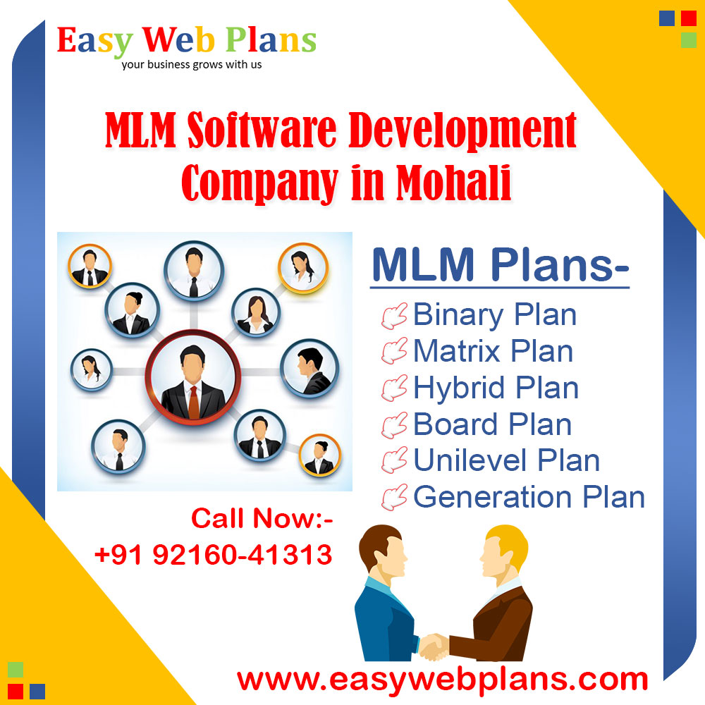 MLM Software Development Company in Mohali